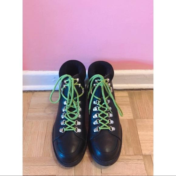 ASOS Grunge Hiking Boot